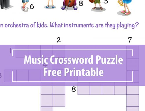 Music Crossword Puzzles Printable – Orchestra Kids