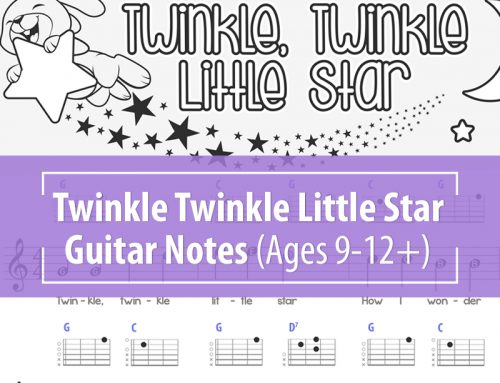 Twinkle Twinkle Little Star – Guitar Notes